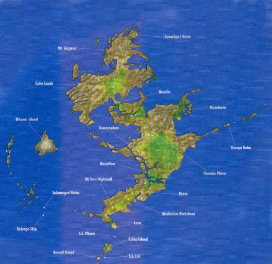 World Map Of Spira